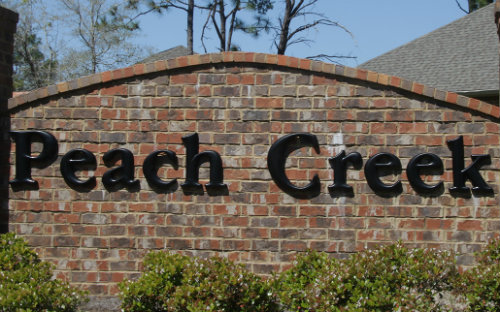 peach creek homes for sale
