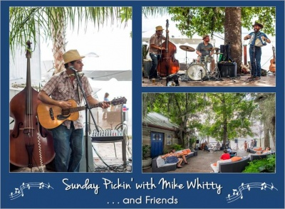 sunday pickin with Mike Whitty and friends