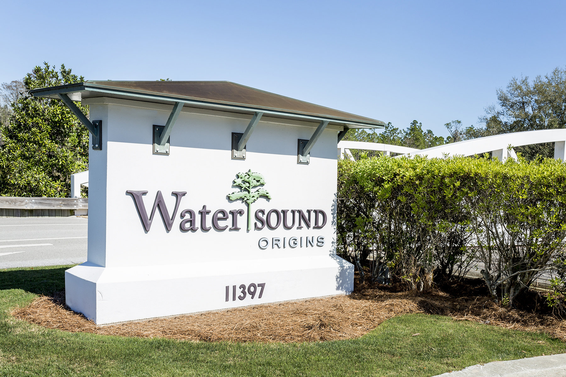 Watersound Origins Community Entrance
