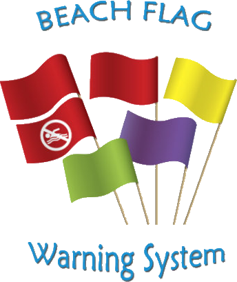 beach flag warming system